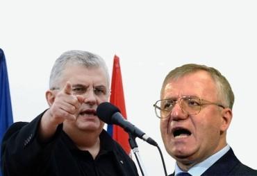 ТВ дуел Војислава Шешеља и Ненада Чанка